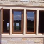 4 stone mullion windows
