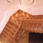 Banks Hall Cawthorne - Custom made stair case for this elegant former stately home
