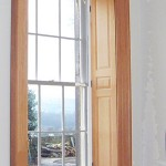 Banks Hall Sash windows and surround - Custom made for this beautiful former stately home in Cawthorne near Barnsley