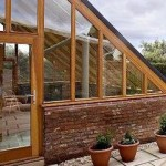 Cliff House Farm Nr Doncaster Yorkshire - Hardwood Idigbo conservatory and conservatory doors