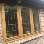 Triple Window with mock lead lights - Part of a bespoke project to supply all windows and doors.