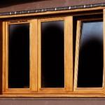 Triple window with tilt