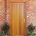 Treetops Hardwood front door