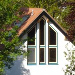 Architect Designed Self Build - Reading Berkshire - Close up of windows. Idigbo is ideal for painting