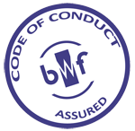 BWF Code of Conduct Logo